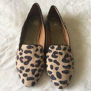 Gianni Bini Shoes - Gianni Bini Leopard Studded Flats 8